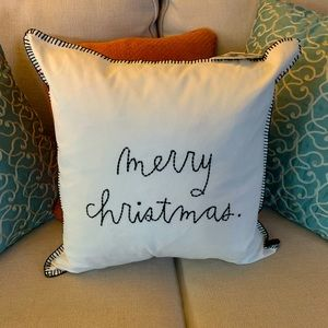 "Rae Dunn ""Merry Christmas"" Pillow"